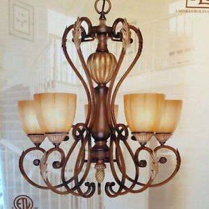 ***REDUCED*** BRAND NEW NEVER USED Minka Chandelier
