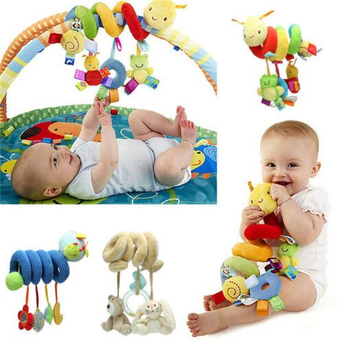 Baby Activity Spiral Stroller Car Seat Travel Lathe Hanging