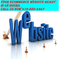 ## GET YOUR ECOMMERCE WEBSITE CREATED IN LESS THAN 48 HOURS ###