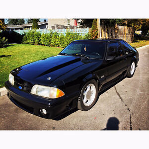 1989 Ford Mustang GT 5.0 Coupe (Foxbody)**NEW PAINT**