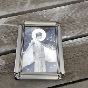 Lovely Art Deco Style Frame with 1925 Photo