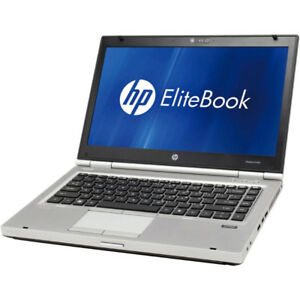 "14"" HP Elitebook 8470p Core i5-3320m Win10 Pro Business Laptop"