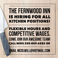 Hiring All Kitchen Positions!
