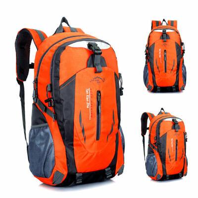 Zaino da campeggio impermeabile da trekking da 40L Zaino da viaggio arancio