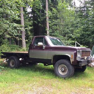 1979 GMC C/K 2500 Silver Pickup Truck