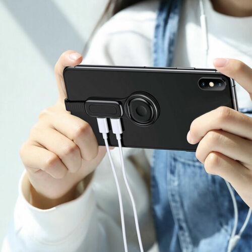 2in1 Lightning 3.5mm Audio Adapter Fast Charging Adjustable