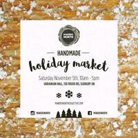 CALL FOR VENDORS, Makers North Handmade Holiday Market
