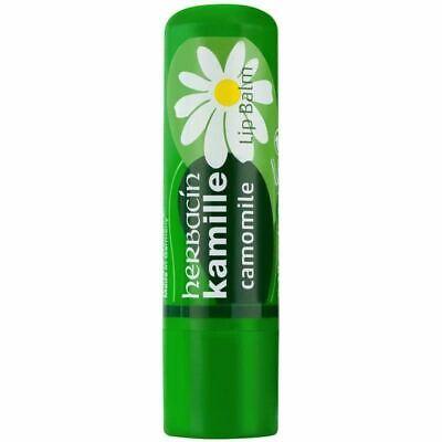 Herbacin wuta Kamille Camomile 4.8g Sensitive Lip Balm Protection Care AU Seller
