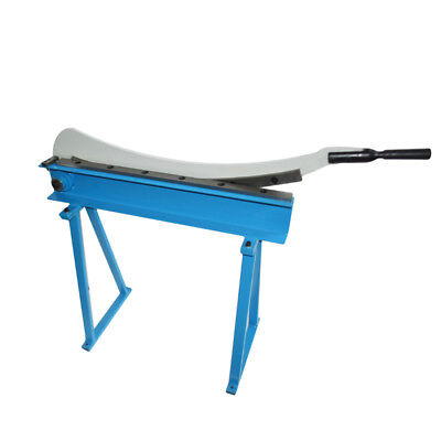 Hs-800 Manual Guillotine Shear Metal Plate Cutting Shear With Stand Metalworking