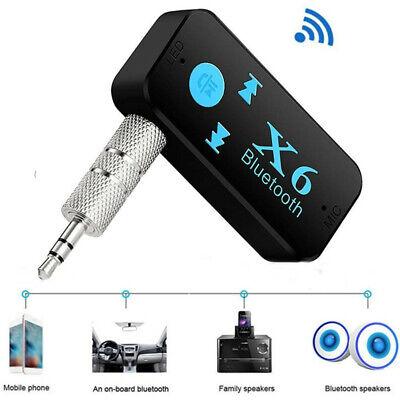 Car Bluetooth Music Wireless Receiver Aux 3.5mm Adapter Auto KFZ Audio