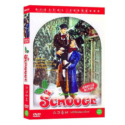 Scrooge : A Christmas Carol (1951) DVD - Alistair Sim (*New *Sealed *All Region)