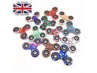 Wholesale Fidget Spinners - Multicolour, Black and White - UK BASED