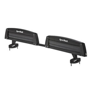 SportRack SR6453 Locking Roof Ski and Snowboard Carrier, Black