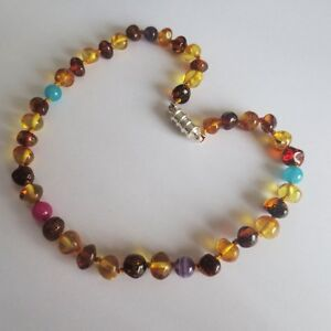 Baltic Amber Gemstone CANDY AMBER Teething Necklaces