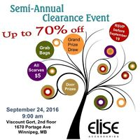 Elise Accessories Up To 70% Off Fall Clearance Sale