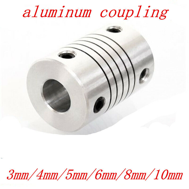 Flexible Shaft Coupling For Joint Stepper Motor Coupler Connector 3-10mm
