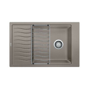 Blanco 401618 Precis Dual Mount Single Kitchen Sink With Drainbo