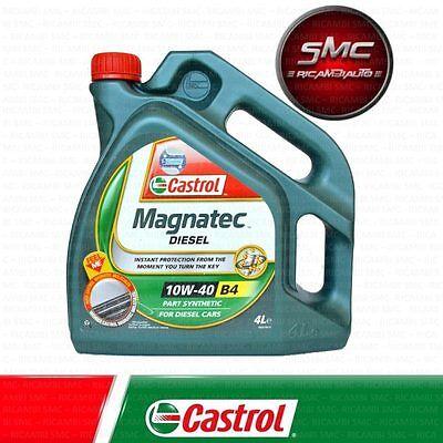OLIO MOTORE ORIGINALE CASTROL MAGNATEC DIESEL 10W-40 B4 LT. 4 (4 LITRI )