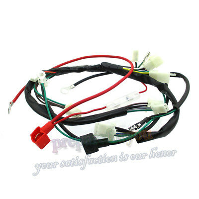 Wiring Harness Loom For Engine Zongshen 190cc Electric Start Pit Dirt Bike