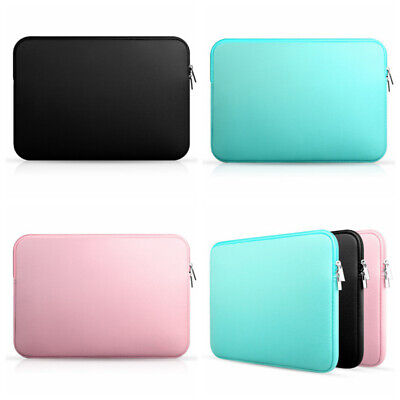 US Laptop Sleeve Notebook Soft Case Bag For MacBook Air/Pro