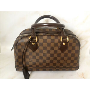 Louis Vuitton Duomo Damier Ebene Canvas Top Handle