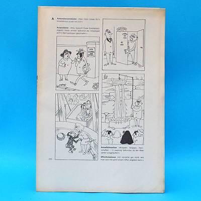 Original DDR-Comic-Druckbogen   Erich Schmitt   Das dicke Schmitt-Buch 19