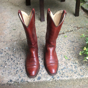 Frye Western Leather Boots