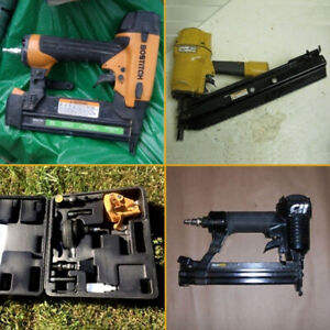 Air Nailers -Finishing -Floorng -Framing -Porter Cable -Bostitch
