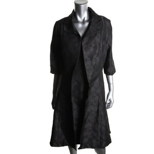 NEW B MICHAEL Black Wool Blend Textured 2 PC Dress & Blazer 10 Peterborough Peterborough Area image 1
