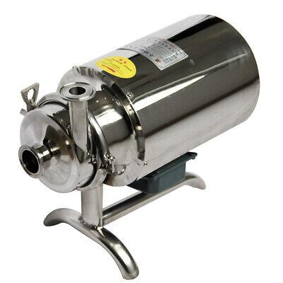 Stainless Steel Sanitary Pump Sanitary Beverage Milk Delivery Pump 3th 0.75kw
