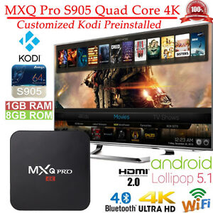 NEWEST CUTTING EDGE! ANDROID TV BOX MXQ PRO NOW ONLY $99!