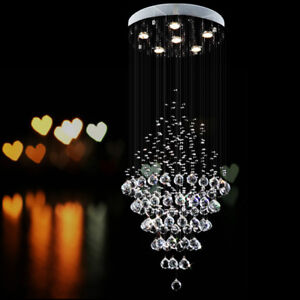LUSTRES CRISTAL NEW- CRYSTAL CHANDELIERS , K 9 REAL CRYSTAL NEW