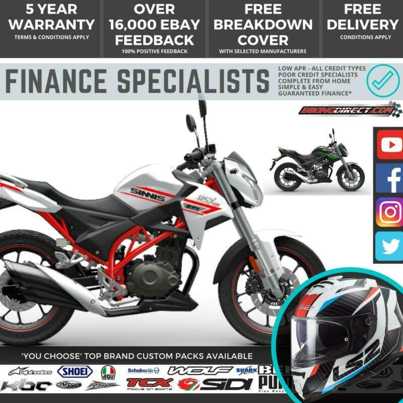 Sinnis Rsx 125 Efi 125cc Naked Commuter Motorcycle Uk Ireland Delivery Finance In Elgin Moray Gumtree