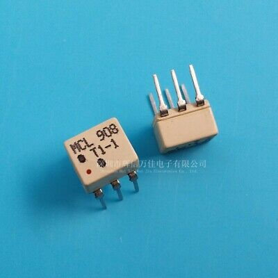 Lot Of 10mini Circuits Mcl T1-1t 50 0.08 To 200 Mhz Rf Transformer