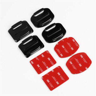 8PCS Accessories Kit Helmet Mount for GoPro Hero5 Black&Session 4 3+ 3 2 1 (Best New Gopro Accessories)