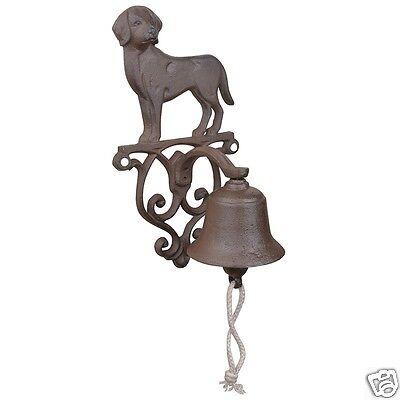 Guss Glocke Türglocke Motiv *Hund* Landhausstil DB 83-1k