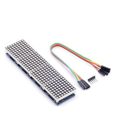 Max7219 Red Led Matrix Mcu Control Led Display Module For Arduino Raspberry Lki