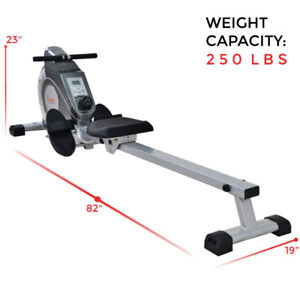 Rowing Machine - Sunny SF-RW5515 - Almost New!