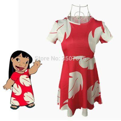 Booking day Lilo & Stitch Girl Dress Fairy Tales A Line Dress Vestidos Hawaiian](Lilo Costumes)