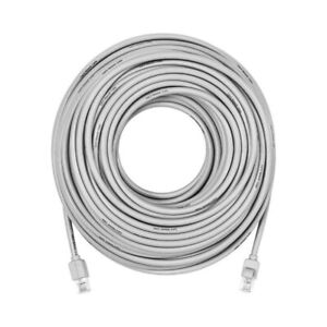 Insignia - 100' Cat-6 Network Cable - Gray