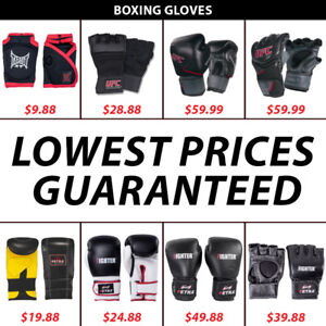 UFC MMA Fighting Punching Grappling Boxing Gloves Sparring