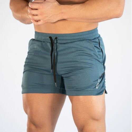 Mens Knit Athletic Shorts Running Training Fitness Gym Joggers Shorts Sport New