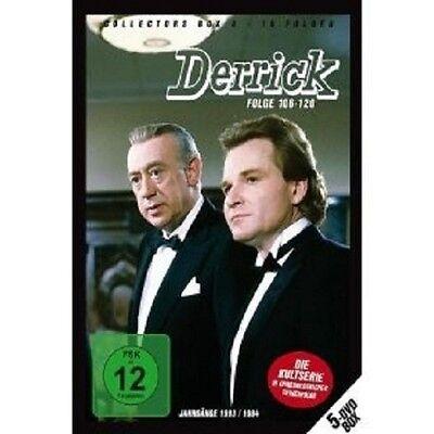 DERRICK COLLECTORS BOX VOL. 8 5 DVD SET NEU online kaufen