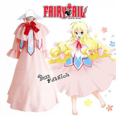 Fairy Tail Cosplay Mavis·Vermilion Präsident Kostüm Kleid Anime - Fairy Tail Cosplay Kostüm