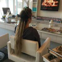 Mobile hair extension service Oakville, Halton Hills, Caledon