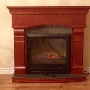 Foyer cheminée électrique/ electric fireplace