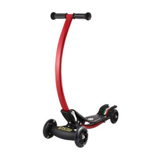 4 Wheel Foldable Scooter New In Sealed Box Patented Brakes LED