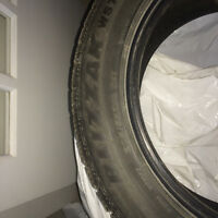 pneus d'hiver (4) bridgestone Blizzak