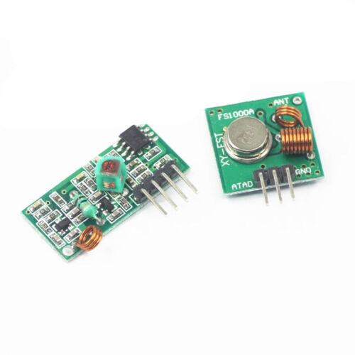 433Mhz RF transmitter and receiver kit Module Arduino ARM WL MCU Raspberry Nice