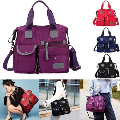 Portable Nylon Travel Shoulder Bag Zipper for Women Mobile P